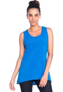 Camiseta Regata Azul Active | 553.821