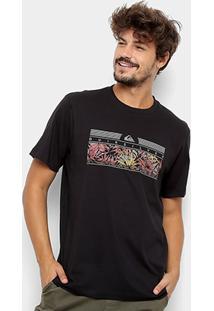 Camiseta Quiksilver Bas The Jungle - Masculina - Masculino