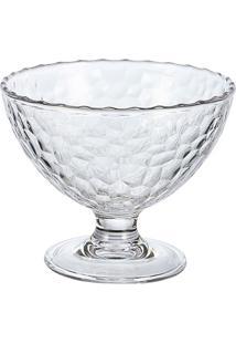 Taça De Sobremesa 240Ml Em Acrílico Martelado 240Ml