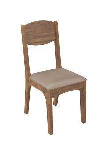 Kit 2 Cadeiras Estofada Nobre/Veludo Ca12/2 - Dalla Costa