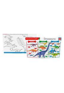 Jogo Americano Dinossauros - Brincadeira De Criança - 5339 - Multicolorido