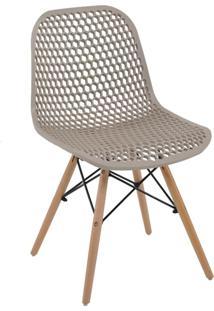 Cadeira Decorativa Sala E Cozinha Haney (Pp) Gran Belo - - Dafiti