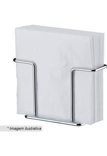 Porta Guardanapos- Prateado- 8,5X13,4X5Cm- Futurfuture
