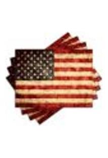 Jogo Americano - Estados Unidos Com 4 Peças - 481Jo