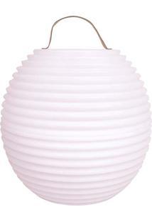 Luminaria The Bowl White Gg - 55X55X56