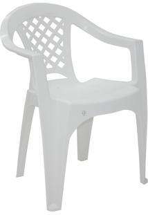 Poltrona Iguape Tramontina 92221010 Branca