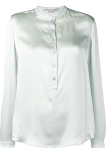 Stella Mccartney Blusa Translúcida - Verde