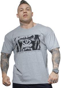 Camiseta Beast Mode Brasil King Cinza
