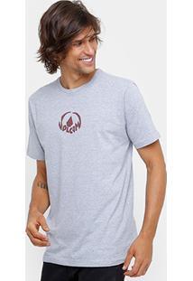 Camiseta Volcom Silk Dark Stone Masculina - Masculino