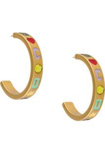 Gcds Gcds Hoop Earrings - Dourado