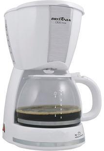Cafeteira Britânia Cb30 Inox Branco 127V
