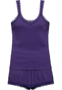 Shortdoll Ribana My Wish Loungerie - Roxo