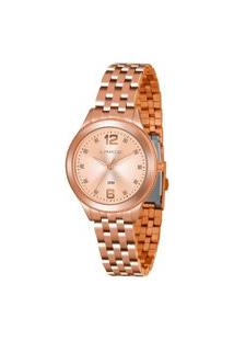 Kit Relógio Feminino Lince Lrmh120L-Kx10S2Sx Analógico 3Atm + Brinde   Lince   Rosa   U