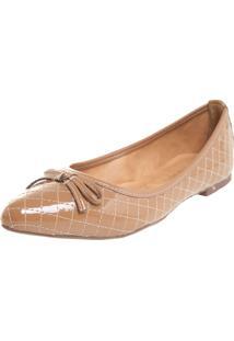 Sapatilha Dafiti Shoes Matelasse Bege