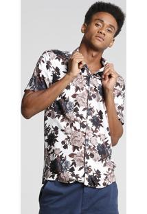 Camisa Bowling Flores