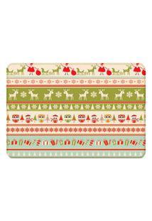 Tapete Sala Wevans Happy Christmas Único Love Decor