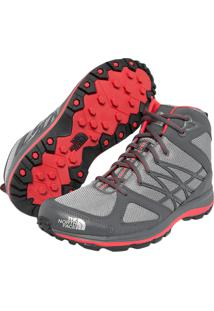 Tênis The North Face Litewave Mid Cinza
