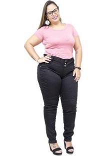 Calça Jeans Credencial Plus Size Skinny Susa Feminina - Feminino