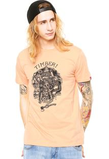 Camiseta Element Family Coral