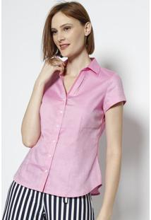 Camisa Maquinetada - Rosa - Vip Reservavip Reserva