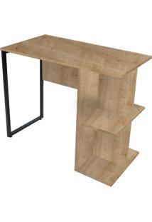 Mesa Para Escritório 90Cm Pop Natura - Fit Mobel