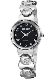 Relógio Weiqin Analógico W4763-3 Preto