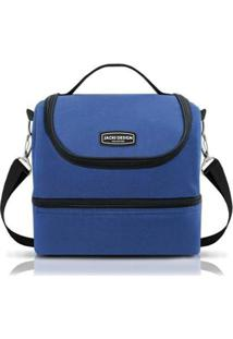 Bolsa Térmica Jacki Design Urbano - Unissex-Azul