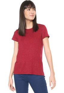 Camiseta Malwee Botonê Vinho