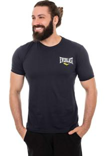 Camiseta Everlast Logo Pequeno Azul Marinho