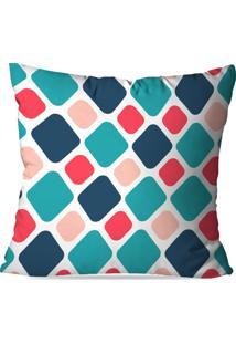 Capa De Almofada Avulsa Decorativa Geométrico Color