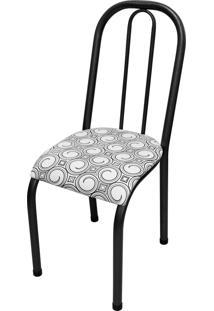Cadeira Roma Baixa Crequeado/Tick Espiral Açomix