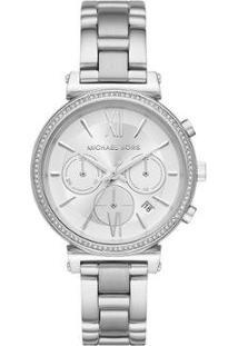ad04419a9 R$ 1979,00. Netshoes Relógio Feminino Michael Kors ...