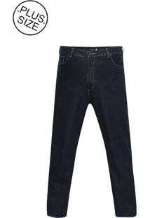 Jeans Plus Size Classic Navy