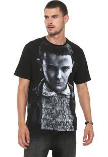 Camiseta Cavalera Eleven Preta