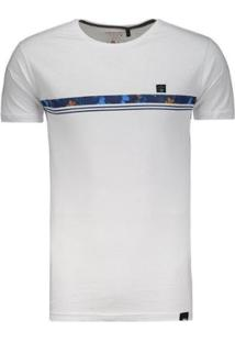 Camiseta Hd Slim Fit - Masculino-Branco