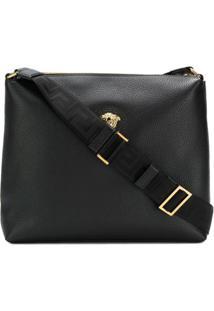 Versace Medusa Messenger Bag - Preto
