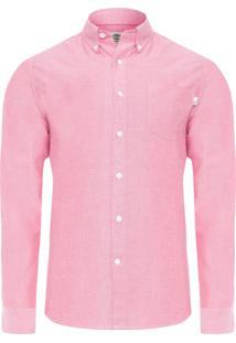 Camisa Masculina Pleasant - Vermelho