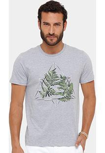 Camiseta Ellus Prisma Nature A. Herchcovitch Masculina - Masculino