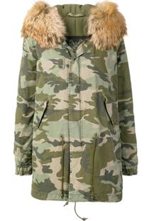 Mr & Mrs Italy Jaqueta Parka Camuflada - Green