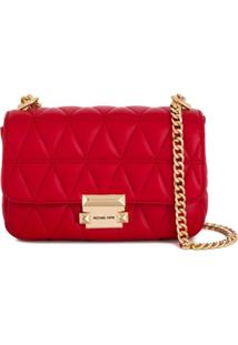 Michael Kors Collection Sloan Crossbody Bag - Vermelho