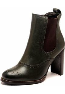 Bota The Box Project July Babosa Feminina - Feminino-Marrom