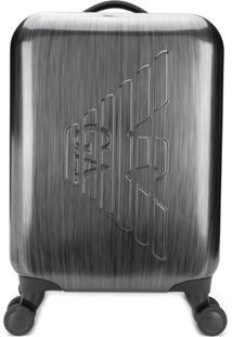 Emporio Armani Branded Suitcase - Cinza
