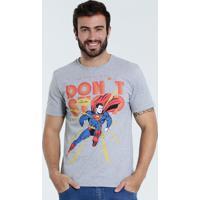 8b4f15d72 Camiseta Masculina Super Homem Liga Da Justiça