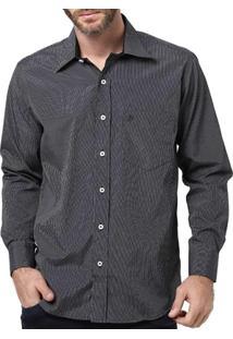 Camisa Manga Longa Masculina Di Marcus Preto - Masculino