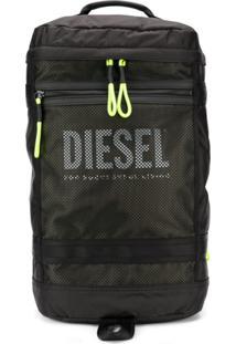 Diesel Mochila Com Recortes - Preto