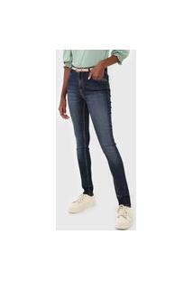 Calça Jeans Dudalina Skinny Demicurve Azul