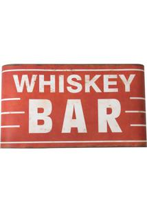 Placa Decorativa Whiskey Bar