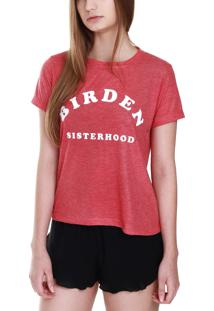 Camiseta Sisterhood Rust
