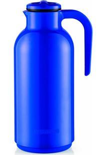 Garrafa Térmica Em Plástico Reunir 1 Litro Azul