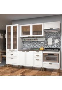 Cozinha Completa 6 Peças Americana Multimóveis 5685 Branco